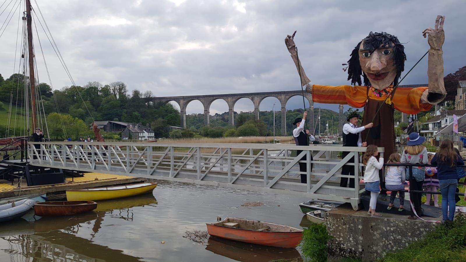 Calstock Viaduct Giant